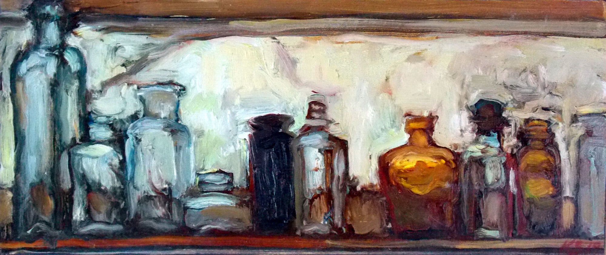 Kim Shannon: Autumn Windowsill, 2019