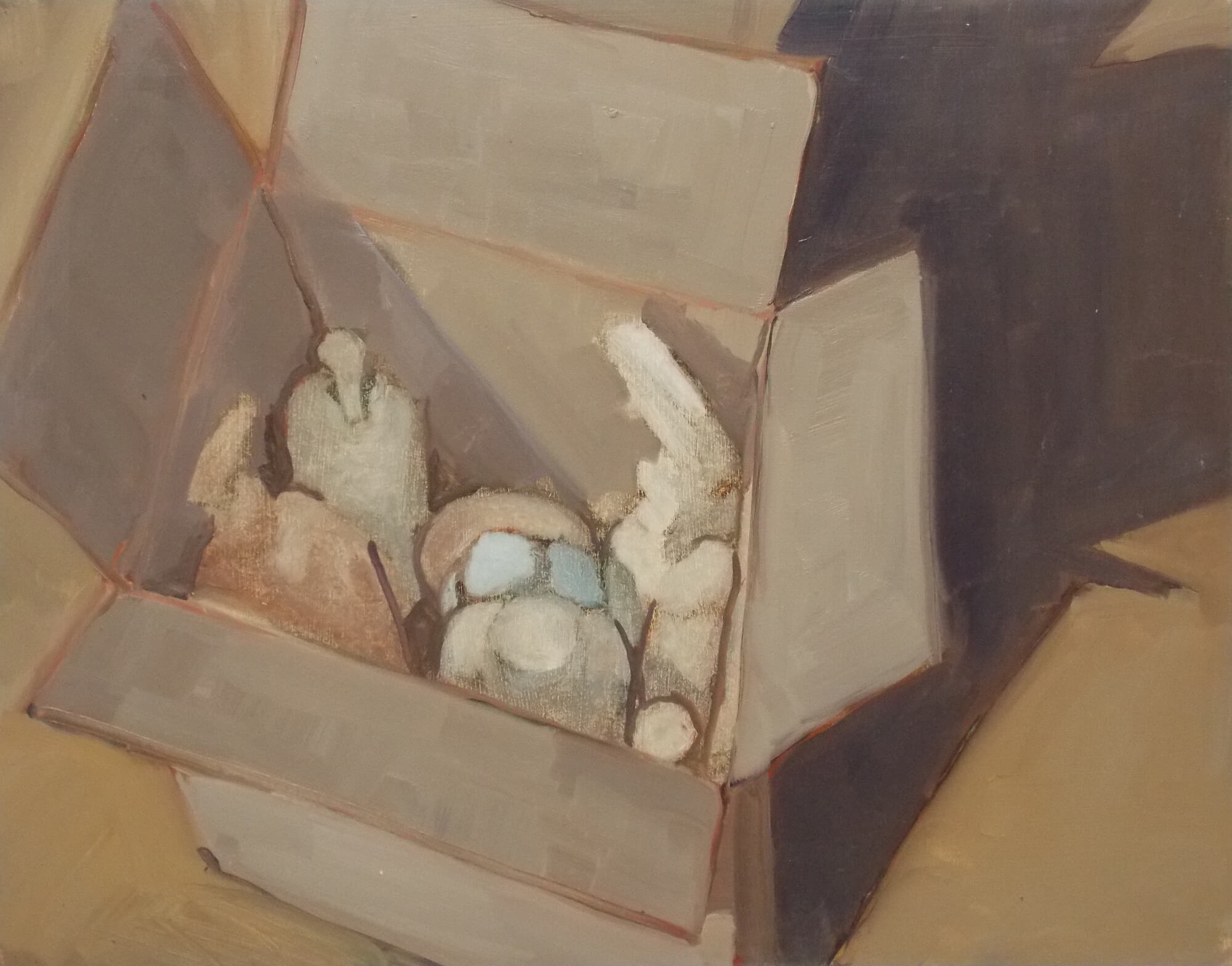 Kim Shannon: Box of Plastic #2, 2019