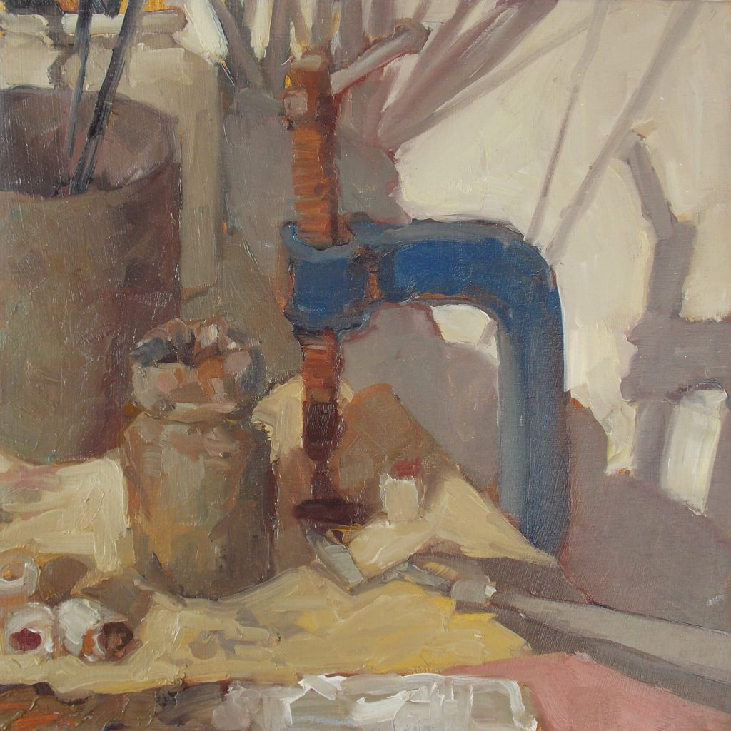 Kim Shannon: Painter's Table #4, 2019