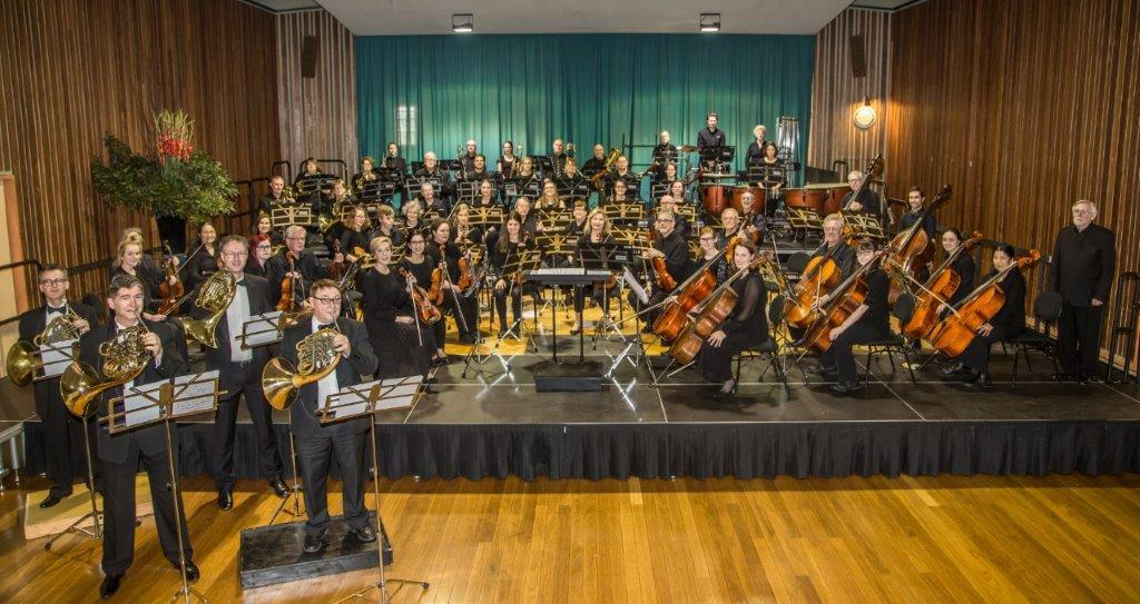 Schumann Concertpiece for Four Horns and Orchestra, July 2019