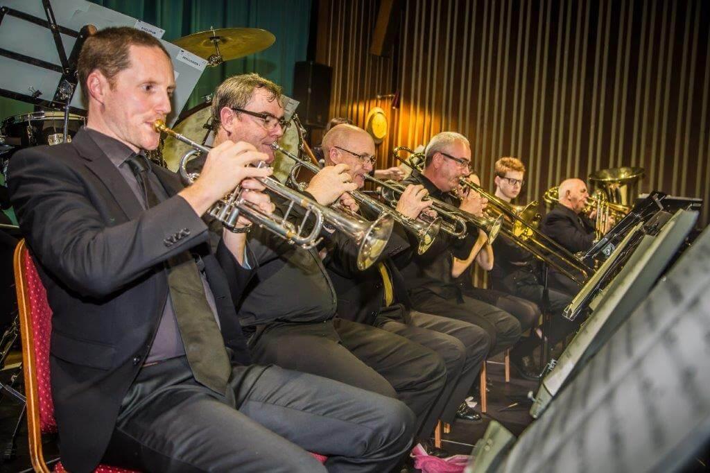 Brass players, September 2019