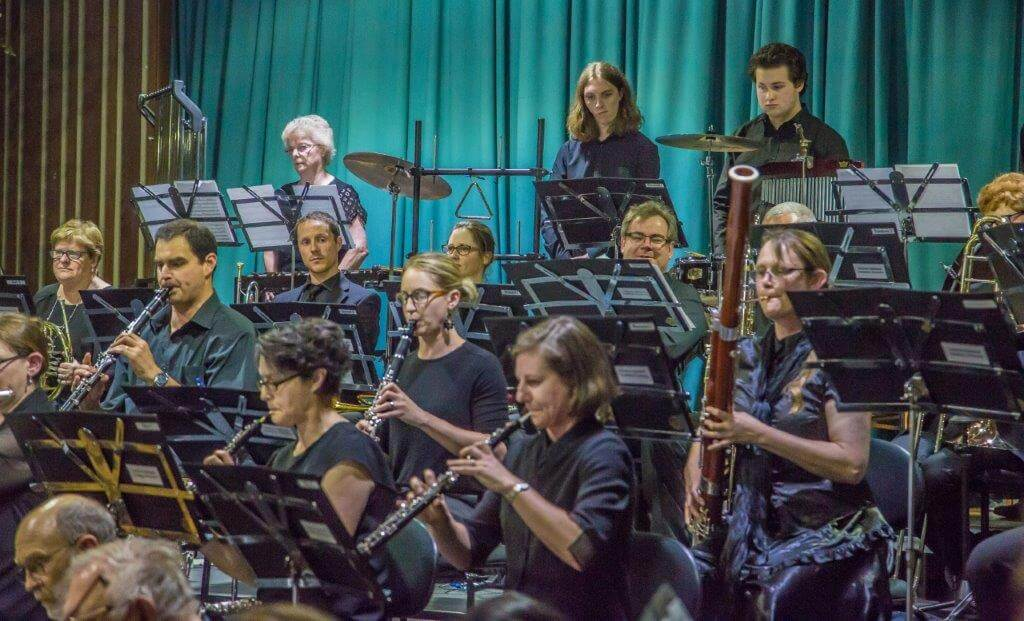Woodwind, brass and percussion players, December 2019