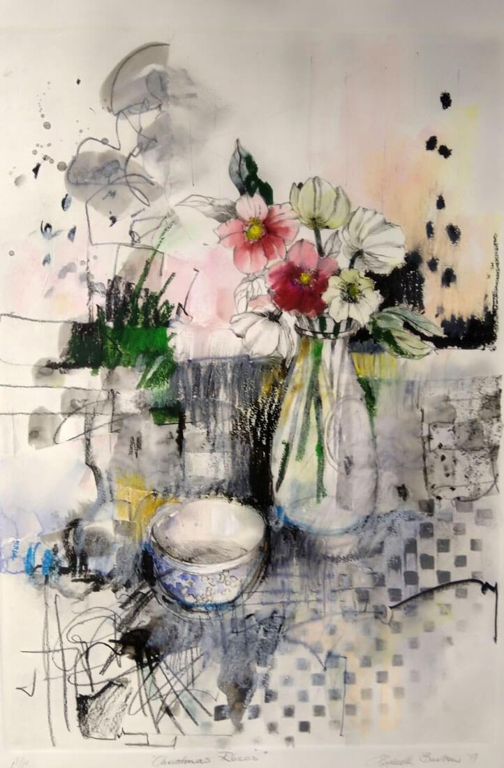 Liz Burton: Christmas Roses
