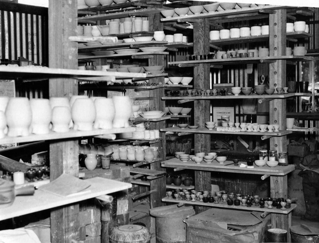 The Pottery, 1954