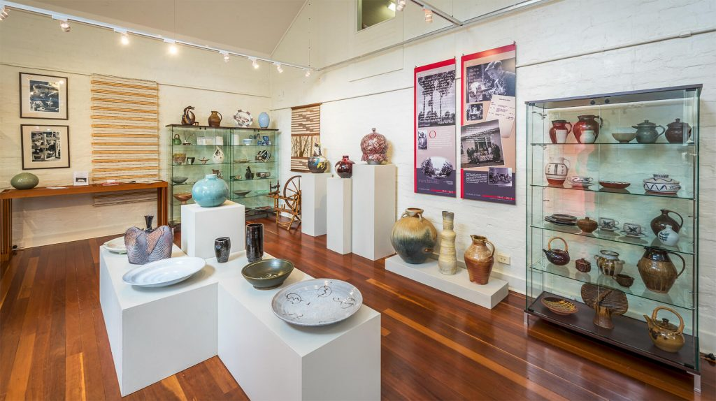 Part of permanent ceramics collection, Sturt archives